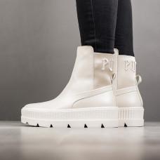 PUMA Women's Fenty x Chelsea Sneaker Boots Vanilla
