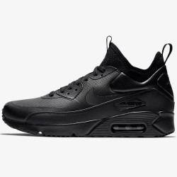 Nike Air Max 90 Ultra Mid Winter Triple Black