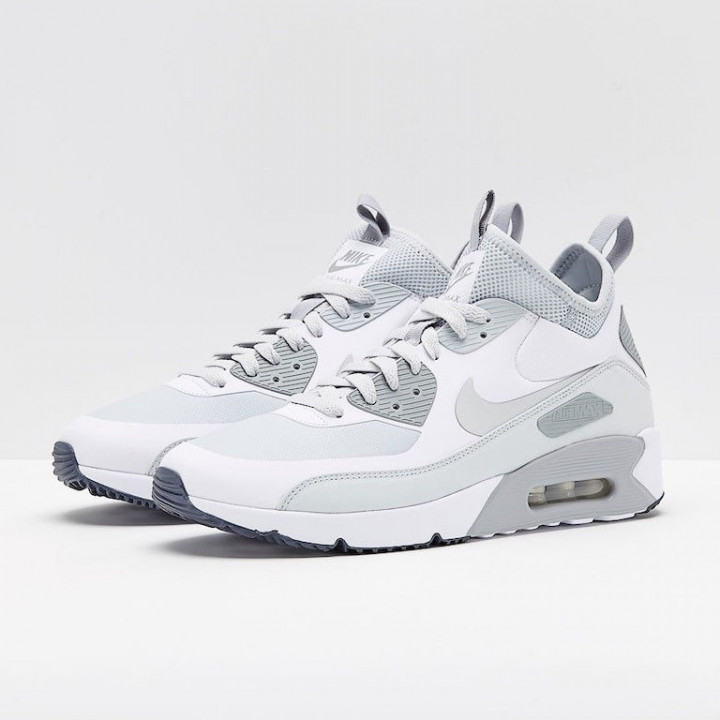 Кроссовки Nike Air Max 90 Ultra Mid Winter, PLATINUM