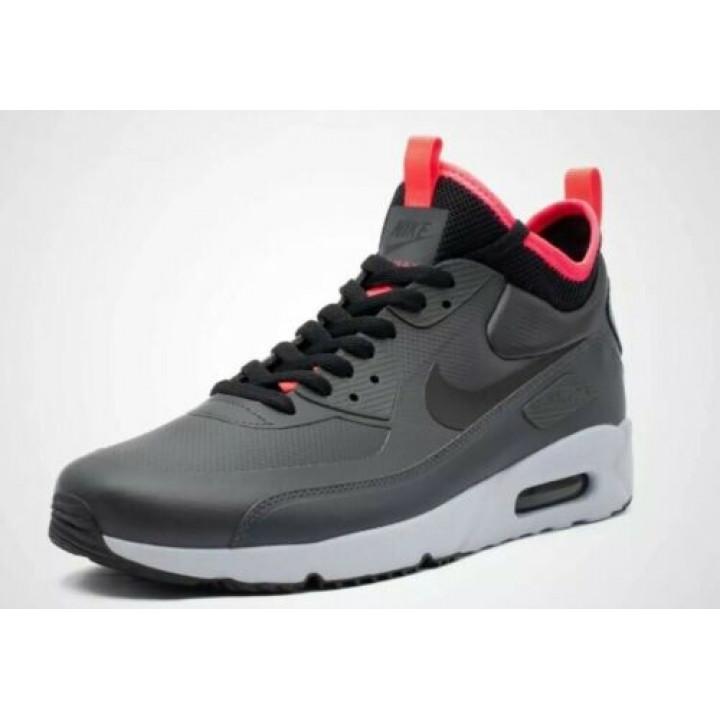 Кроссовки Nike Air Max 90 Ultra Mid Winter, серые