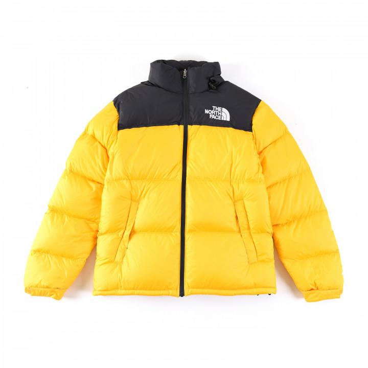 Куртка зимняя The North Face желтый 1996 Nuptse