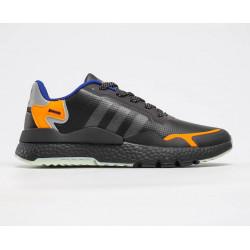 Adidas Nite Jogger Boost чорні з оранжевим