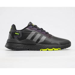 Adidas Nite Jogger Boost чорні з зеленим