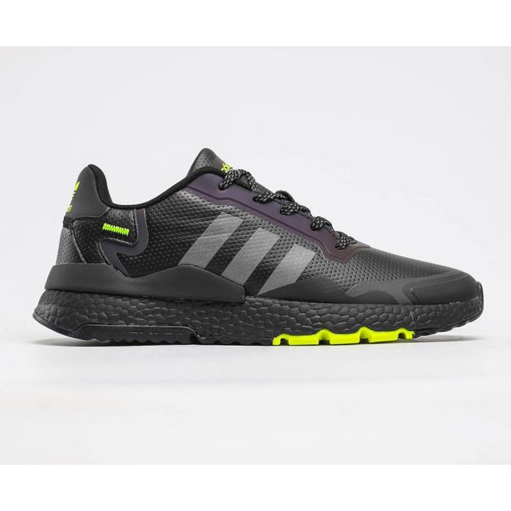 Кроссовки Adidas Nite Jogger black green весна/осінь під замовлення