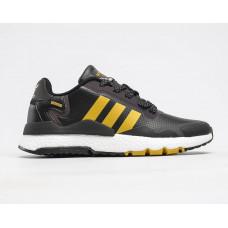 Adidas Nite Jogger Boost чорні з жовтим