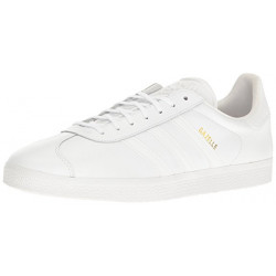 Adidas Gazelle all white Lace-up Sneaker