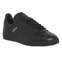 Adidas Gazelle all black Lace-up Sneaker