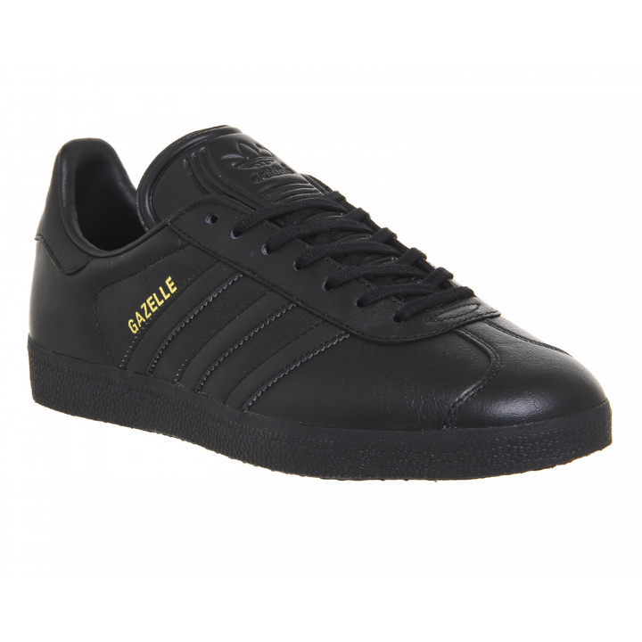Кроссовки Adidas Gazelle all black Lace-up Sneaker
