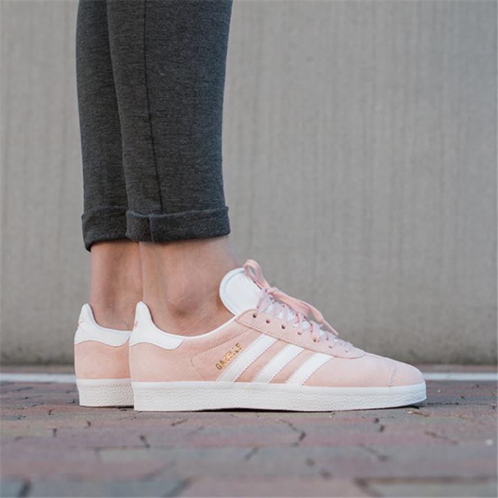 Кроссовки женские  Adidas Gazelle, розовые