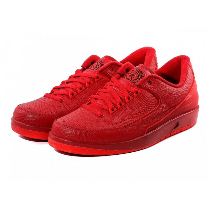 Кроссовки Air Jordan 2 RETRO LOW All Red