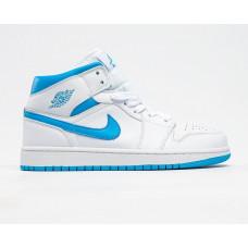 Air Jordan 1 White/blu new color 2020