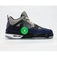 Кроссовки Air Jordan 4 Retro dark/blu