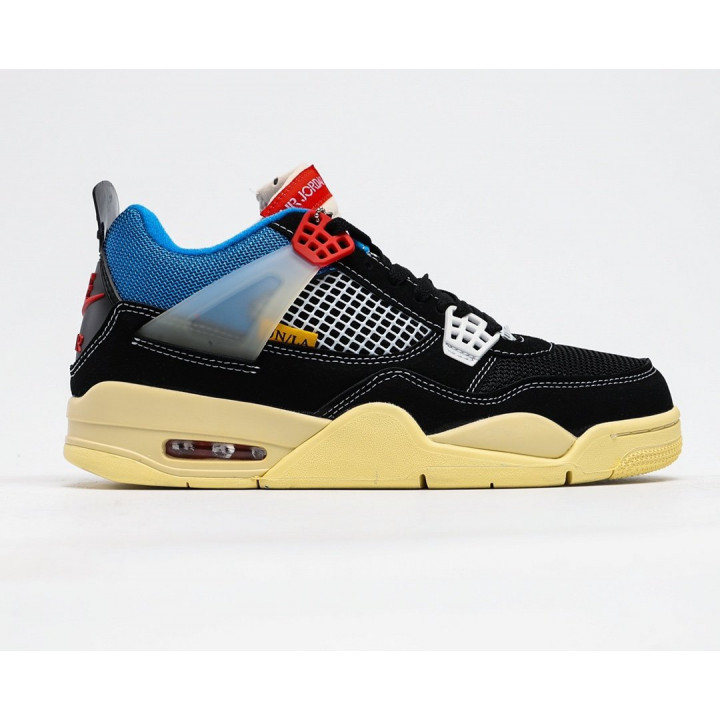 Кроссовки Air Jordan 4 Retro Union чорні