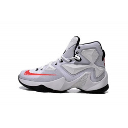 NIKE LEBRON JAMES XIII white red