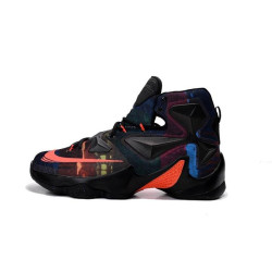 NIKE LEBRON JAMES XIII black orange