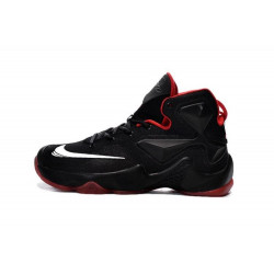 NIKE LEBRON JAMES XIII black with red