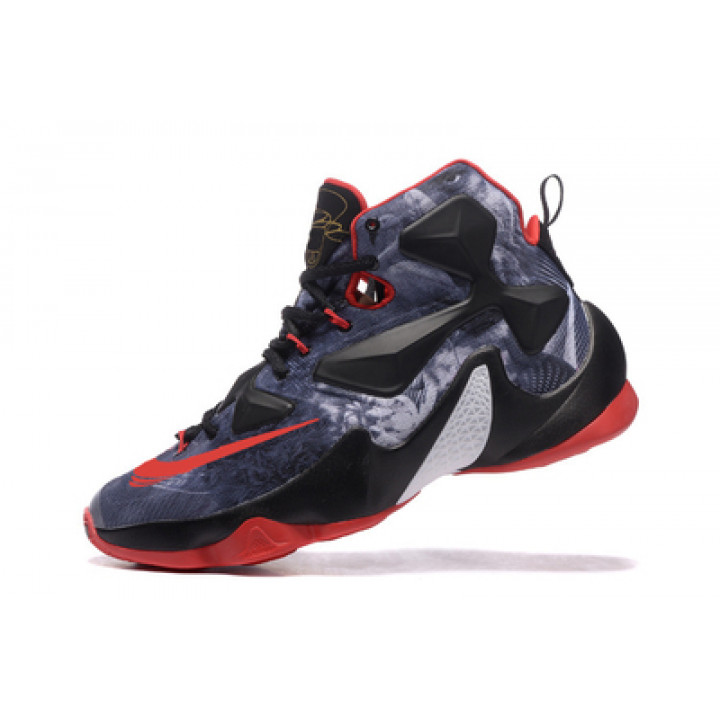 NIKE LEBRON JAMES XIII black and red