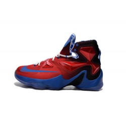 NIKE LEBRON JAMES XIII red blue