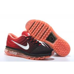 Nike Air Max 2017 черные с оранжевым