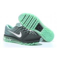Nike Air Max 2017 черные с зеленым