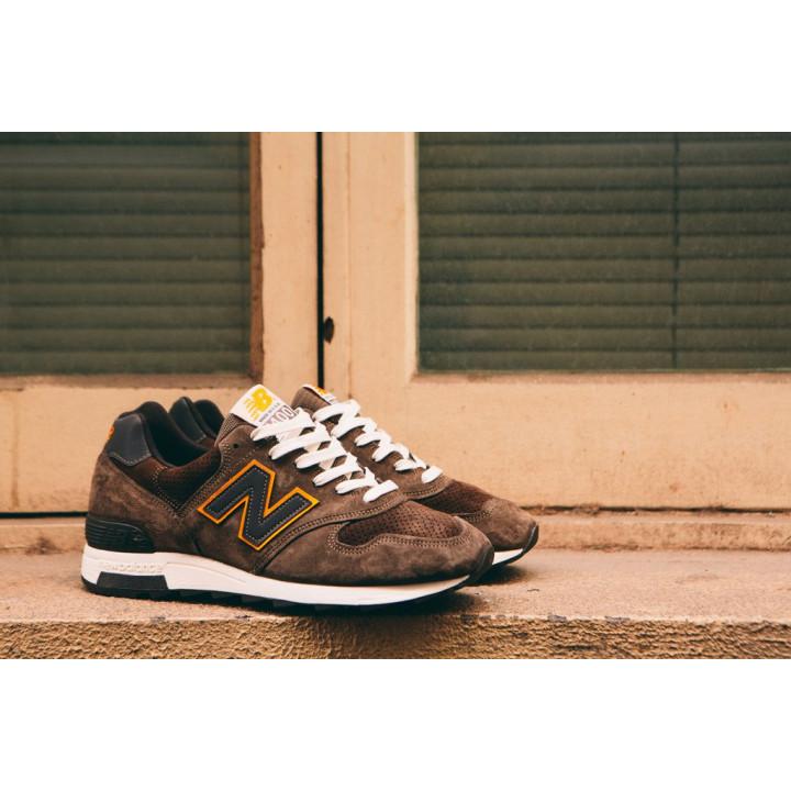 Кроссовки New Balance 1400 коричневые