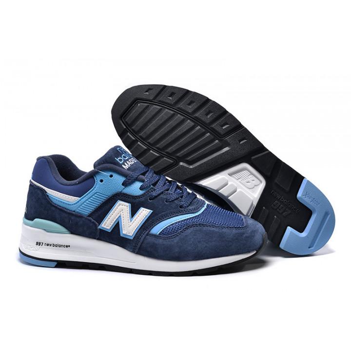 Кроссовки New Balance 997, темно-синие