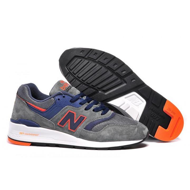 Кроссовки New Balance 997 grey orange