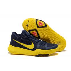 Nike Kyrie Irving 3 синие с желтым