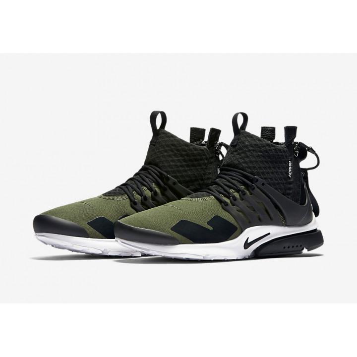 Кроссовки Nike Air Presto Mid Acronym хаки