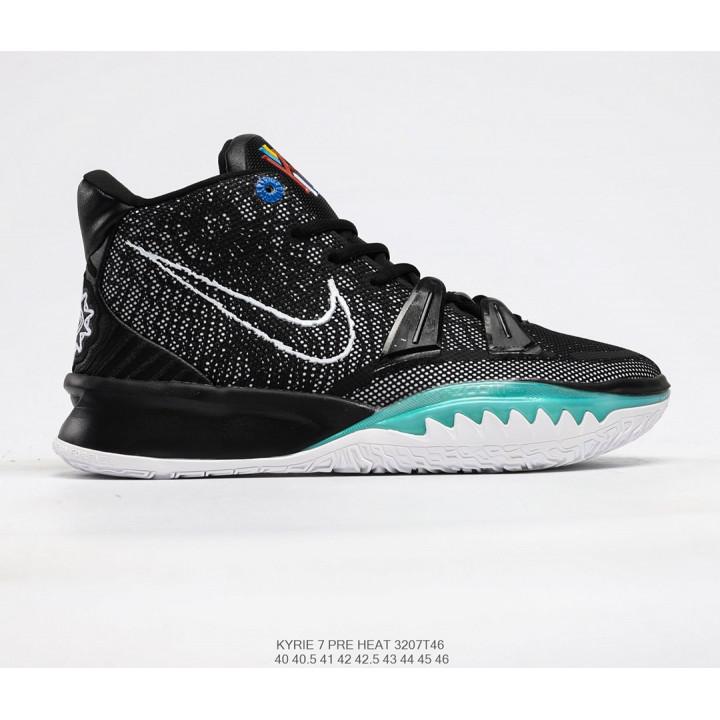 Nike Kyrie Irving 7 чорні з зеленим