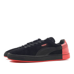Puma Suede Classic Staple black/red