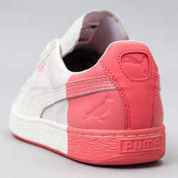 Puma Suede Classic Staple white/grey/red