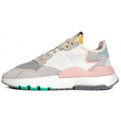 Adidas Nite Jogger White low Rose