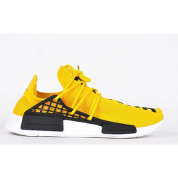 Adidas NMD Hu Trail Black Pharrell Williams yellow