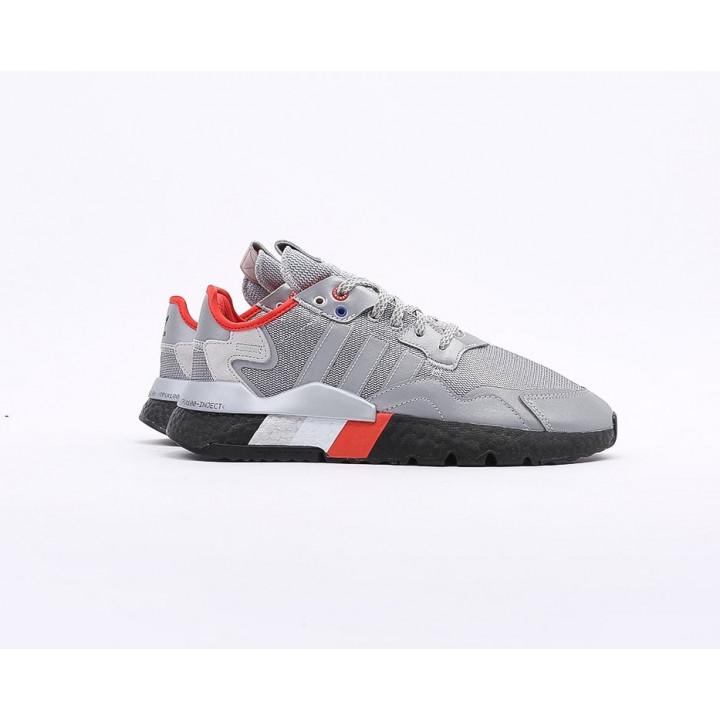 Кросівки Adidas Nite Jogger 'Grey/Orange сірі з чорним