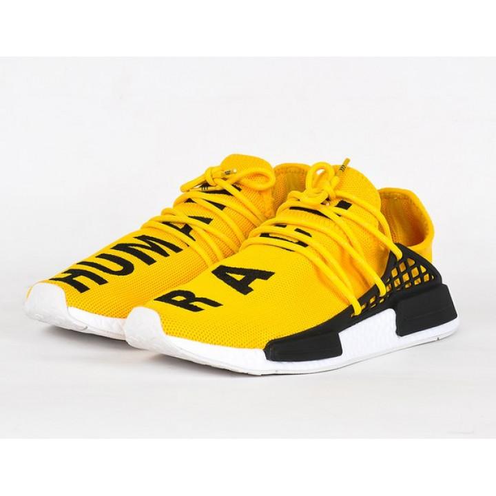 Кроссовки adidas NMD Hu Trail желтые в наличии