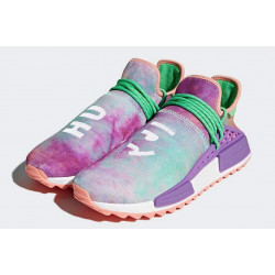 Adidas NMD Hu Trail Black Pharrell Williams HOLI CHALK CORAL