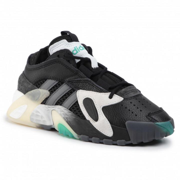 Кросівки  Adіdas streetball чорні з зеленим