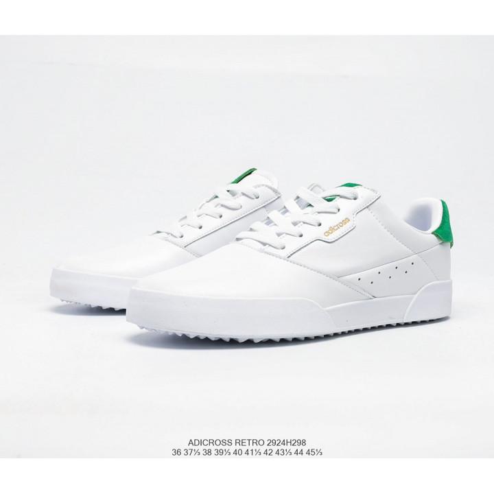 Кросівки Adidas ADICROSS RETRO білі з зеленим