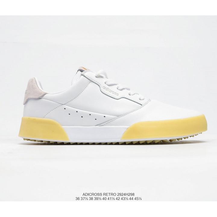 Кросівки Adidas ADICROSS RETRO білі з жовтим