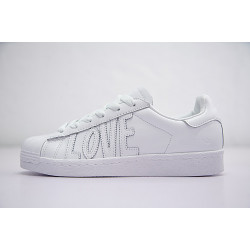Adidas Superstar 80s HH W Love белые