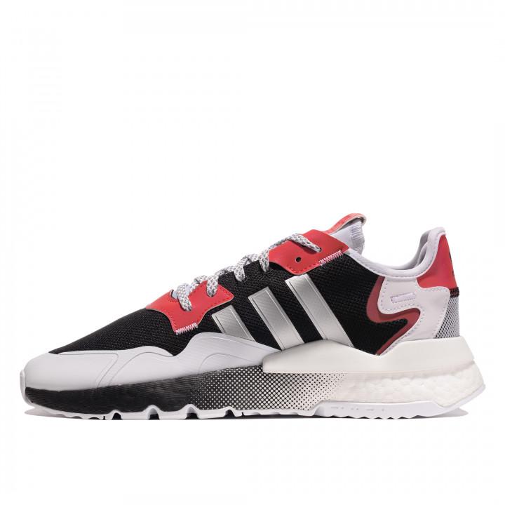 Кросівки Adidas Nite Jogger з чорним та червоним