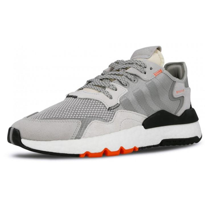 Кросівки Adidas Nite Jogger 'Grey/Orange сірі