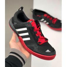 Кроссовки Adidas Daroga черные летние