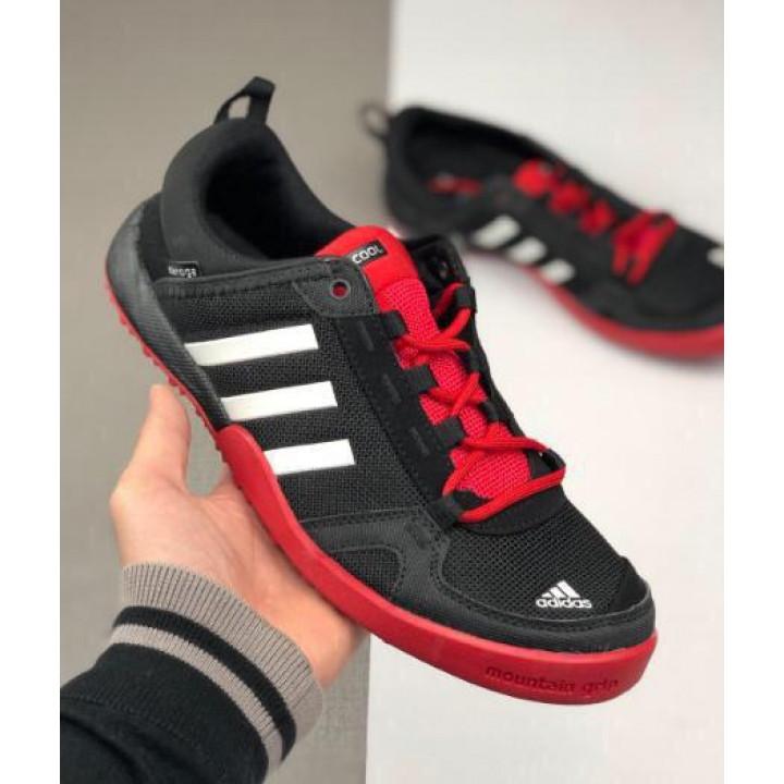 Кроссовки Adidas Daroga летние all black