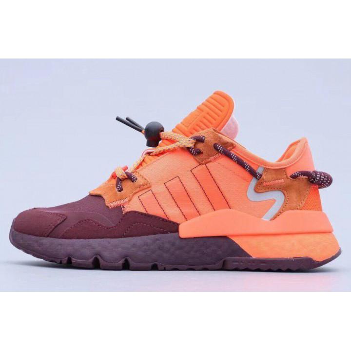 Кросівки Adidas Nite Jogger Orange/Bordeaux бордові