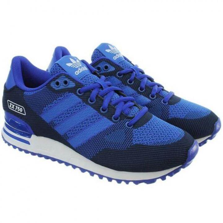 Кроссовки Adidas ZX 750 WV сині
