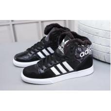 Зимние Adidas Extaball черные