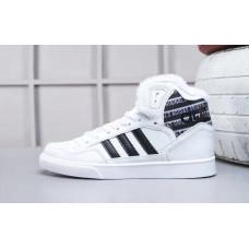 Зимние Adidas Extaball белые