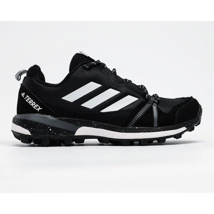 Кроссовки Adidas Terrex, Agravic GTX черные с белым